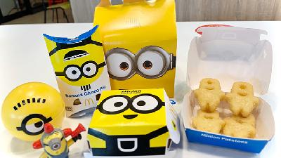 McDonald's Indonesia Luncurkan Happy Meal Minions
