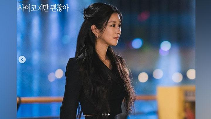 Seo Ye Ji dalam drama It's Okay Not To Be Okay. Instagram.com/@tvndramaofficial