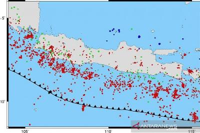 BMKG Warns of Potential 8.7 M Earthquake from Southern East Java
