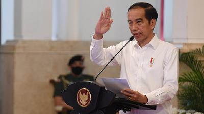 Jokowi Passes Instruction on Sanctions for Health Protocols Violators