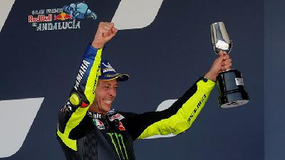 The Doctor Valentino Rossi Memburu Podium ke-200 di MotoGP Republik Cek