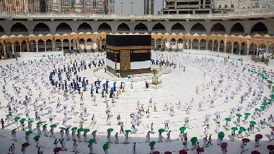 Hajj Begins in Saudi Arabia amid Pandemic
