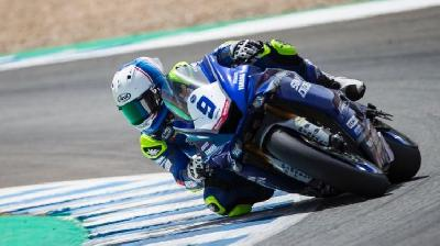 Galang Hendra Pratama Finish P12 Race 1 WorldSSP Aragon