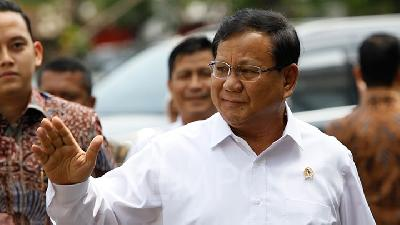 Prabowo Named as Gerindra Chairman for 2020-2025 Period