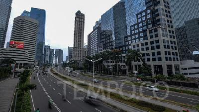Jakarta Traffic Density Down 19% in First Week of PSBB Lockdown Part 2