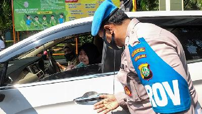 Jakarta Sees Drop in Health Protocol Violations in Transitional PSBB