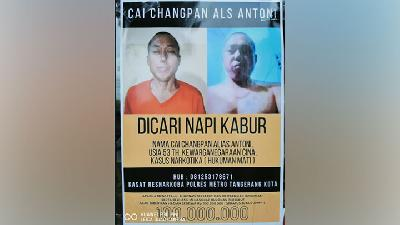 Cai Changpan Found Dead in Bogor, West Java