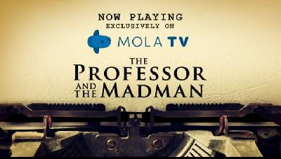 Film The Professor and the Madman di Mola TV dan Sejarah Oxford English Dictionary