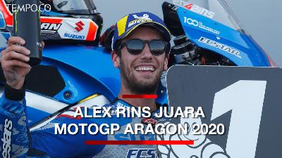 MotoGP Aragon: Alex Rins Juara, Alex Marquez Runner-up
