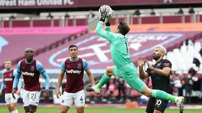 Manchester City Vs West Ham, Moyes Berambisi Jaga Catatan Clean Sheet