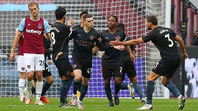 Foden Salvages A Point for Manchester City at West Ham