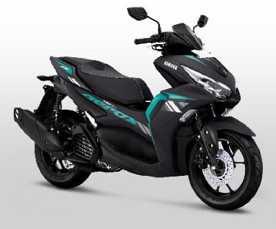 All New Yamaha Aerox 155 Connected Meluncur di Bangka