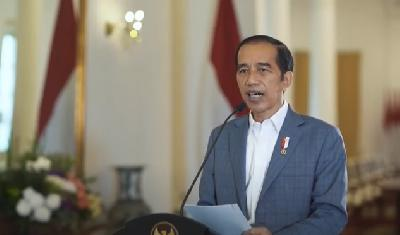 Di Pertemuan Virtual World Economic Forum, Jokowi Banggakan UU Cipta Kerja