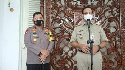 Anies Baswedan to Draft Policies in Anticipation of Post-peak Pandemic