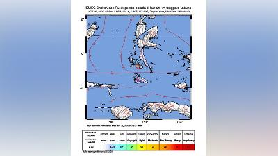 Minor Damages Reported in 60 Houses Following Halmahera Earthquake