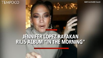 Saat Jennifer Lopez Rayakan Rilis Single 'In The Morning' pada Hari Thaksgiving
