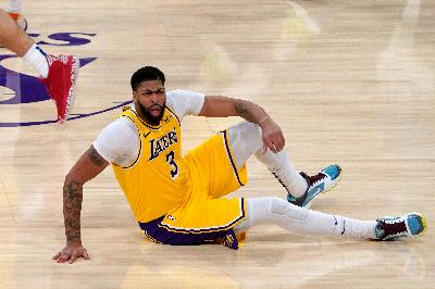 Hasil NBA: Anthony Davis Kembali, LA Lakers Dikalahkan Dallas Mavericks