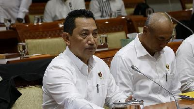 Jokowi's Favorite for Police Chief