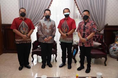 Listyo Sigit Temui AHY Menjelang Fit and Profer Test Calon Kapolri