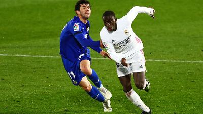 Hasil Liga Spanyol, Getafe Vs Real Madrid 0-0