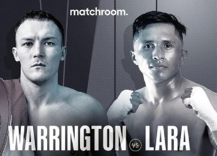 Josh Warrington vs Mauricio Lara. (instagram/@matchroomboxing)