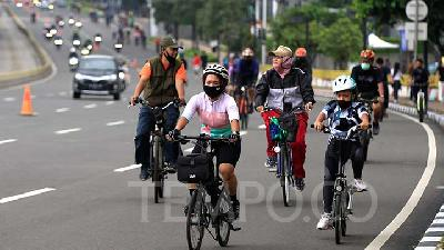 Jakarta to Set Up Bicycle Artwork before Indofood Building