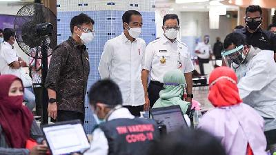 Jokowi Targets 182 mn Indonesians Get Covid-19 Vaccine This Year