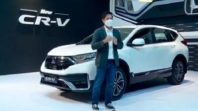 Honda Luncurkan New CR-V, New Odyssey, dan Brio RS Urbanite Edition