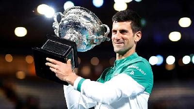 Novak Djokovic Wins Record Extending Ninth Australian Open Title