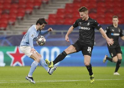 Rekap Hasil Liga Champions: Atalanta vs Madrid 0-1, Gladbach vs Man City 0-2