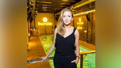 Potret Whitney Wolfe Herd Miliuner Termuda AS