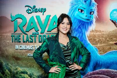 Raisa, Via Vallen Hingga Batik Ada di Film Raya and The Last Dragon