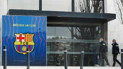 Former Barca President Josep Maria Bartomeu Arrested After Club Offices Raided