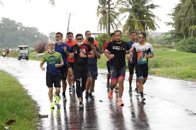 Sandiaga Uno Draws Up Strategies to Develop Sports Tourism
