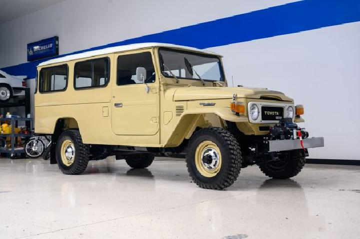 Toyota Land Cruiser HJ45 1980 (Autoevolution)