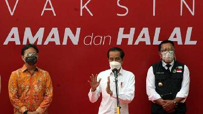Jokowi on Eid Homecoming Ban: COVID-19 Downward Trend Must Be Maintained