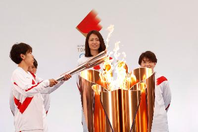 COVID-19 Medical Emergency Forces Japan's Osaka to Cancel Olympic Torch Run