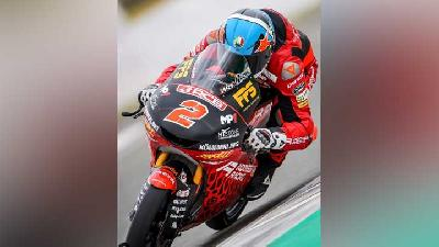 Rider Indonesian Racing Start P4 di Moto3 Portimao