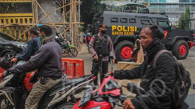 Jakarta Police Deploy 4,000 Personnel to Secure ASEAN Summit