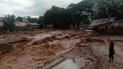 Flash Flood in East Nusa Tenggara; 11 Reported Dead