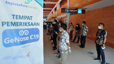 Bali's Ngurah Rai Airport Rolls Out COVID-19 Breathalyzer Test GeNose