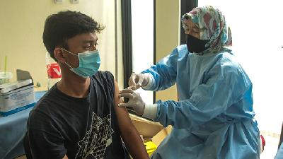 Bekasi City Covid-19 Vaccination Advances amid Ramadan