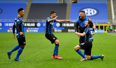 Hasil Liga Italia Senin Dinihari 19 April: Napoli vs Inter Milan 1-1