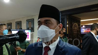 Jakarta Deputy Gov Riza Patria Clarifies on City Hall Revamp