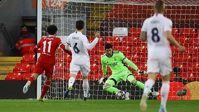 Real Madrid Frustrate Liverpool To Move Into Last Four