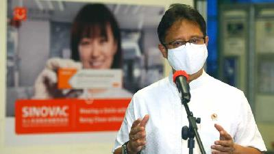 Health Minister: Covid-19 Vaccine Supply from China Runs Smoothly