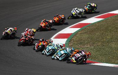 Pembalap Indonesian Racing Finish Ke-5 di Moto3 Portimao