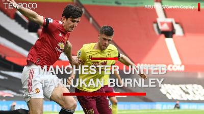 Manchester United Vs Burnley 3-1, Mason Greenwood Sumbang 2 Gol