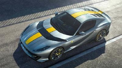 Foto Ferrari 812 Superfast Limited Edition Dirilis Menjelang Debut