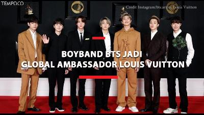 Gaya BTS Jadi Global Ambassador Louis Vuitton